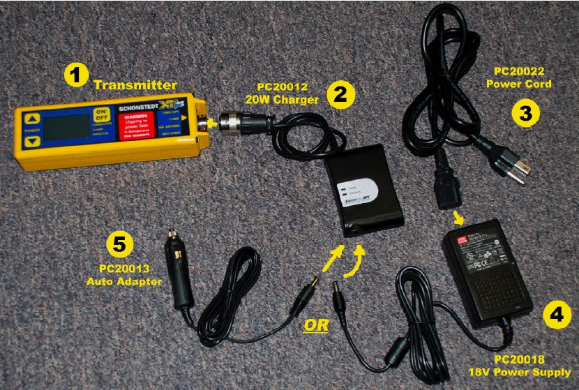 How to use the XTpc Pipe and Cable Locator Charger